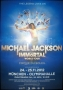 Michael Jackson Immortal World Tour Cirque Du Soleil Promo Poster Munich *Blue* (Germany)