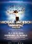 Michael Jackson Immortal World Tour Cirque Du Soleil Promo Poster Hamburg (Germany)