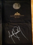 Michael Jackson Signed Garment Bag (Germany)