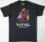 Michael Jackson *One* Show Official Marquee Black T-shirt For Men (USA)