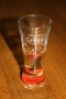 Michael Jackson *One* Show Official Urban Red Shooter Glass (USA)