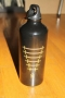 Michael Jackson *One* Show Official Black Water Bottle (USA)