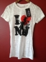 Michael Jackson *One* Show Official 'I Love MJ' White T-shirt (USA)