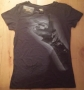 "Michael Jackson ""Bad Tour Fingers"" Black Women T-Shirt (USA)"