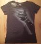 "Michael Jackson ""Bad Tour Fingers"" Black Women T-Shirt (USA)"