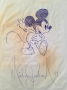 Michael Jackson Drawing Of Mickey Mouse (1984)