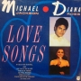 Michael Jackson & Diana Ross - Love Songs Commercial LP (UK)