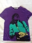Michael Jackson *Top Man* Purple Shirt (UK)