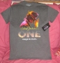 Michael Jackson *One* Show Official Marquee Grey T-shirt For Men (USA)