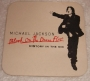 Michael Jackson Blood On The Dance Floor Promo Coaster (UK)