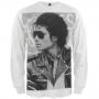 Michael Jackson Forever 21 Official White Long Sleeve Women Shirt  (USA)
