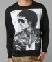Michael Jackson Forever 21 Official Black Long Sleeve Men Shirt (USA)