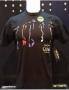Michael Jackson *One* Show Official Black Men *Glow Dancers* T-shirt (USA)