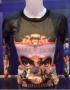 Michael Jackson *One* Show Official Women Dangerous Long Sleeve T-shirt (USA)