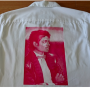 Michael Jackson Supreme Official Work Billie Jean White Shirt 2017 (USA)