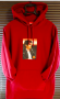 Michael Jackson Supreme Official Billie Jean Red Sweatshirt Hoodie 2017 (USA)