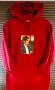 Michael Jackson Supreme Official Billie Jean Red Sweatshirt Hoodie 2017 (USA)