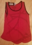 Michael Jackson *One* Show Official Smooth Criminal Red Women Vest (USA)