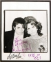 Michael & Sophia Loren Signed Photo To David Gest (USA)