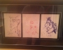Michael Jackson 3 Original Drawings (USA)