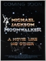 Moonwalker Movie Poster Signed by Michael (1988)