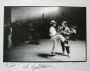 Moonwalker Set Photo Signed By Vincent Paterson (USA)