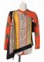 Multicolour Wrap/Scarf And Orange Shirt (1971)