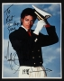 Navy Jacket Photo Signed By Michael (1984)