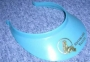 Neverland Valley Blue Plastic Visor