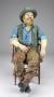 Neverland Ranch Life Sized Figure *Bearded Cowboy* (USA)