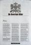 Neverland-Ritter Michael Jackson Fanclub Newsletter March-April 1996 (Germany)