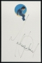 Neverland Stationery Signed By Michael *White Paper* (Date Unknown)
