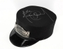 Neverland Train Conductor Hat Signed by Michael