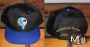 Neverland Valley Black Baseball Cap (with blue visor)