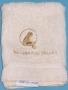 Neverland Valley White Cotton Washcloth