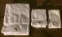 Neverland Valley White Bath Towels