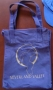 Neverland Valley Ranch Blue Navy Canvas Tote Bag (USA)