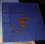 Neverland Valley Blue Paper Napkin (Gold Logo) (USA)