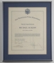 New Westminster Police Department Signed Oath *Honorary Officer* (1984)