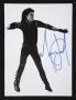 Number Ones BAD Era Photo Signed By Michael (2003)
