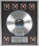 Off The Wall 6x Platinum Award Presented To Quincy Jones (USA)