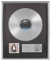 Off The Wall Platinum RIAA Award *Presented To David Williams* (1979)