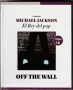 Off The Wall *El Rey Del Pop/El Comercio Magazine* Official Limited Edition Book+CD Set (Perù)