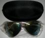 Michael Jackson Official *Aviator* Sunglasses (Gold Frame) (UK)