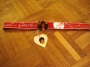 "Michael Jackson Official MJ ""Billie Jean Video"" Red Nylon Belt (USA)"