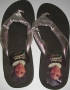 "Michael Jackson Official ""Black Sweater"" Rubber Sandals (USA)"