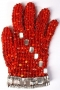 Orange Crystal Glove (1980's)