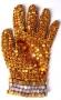 Yellow Crystal Glove (1980's)