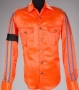 Orange Satin Shirt With Black Armband (1992)