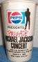 Bad Tour '88 Pepsi Paper Cup UNCF Special March 5,1988 Concert in NYC (USA)